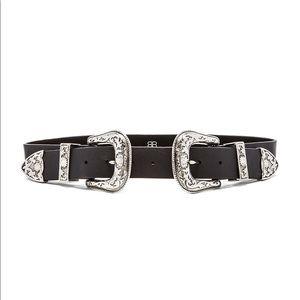 b-Low the belt x Revolve bri bri waist black belt!